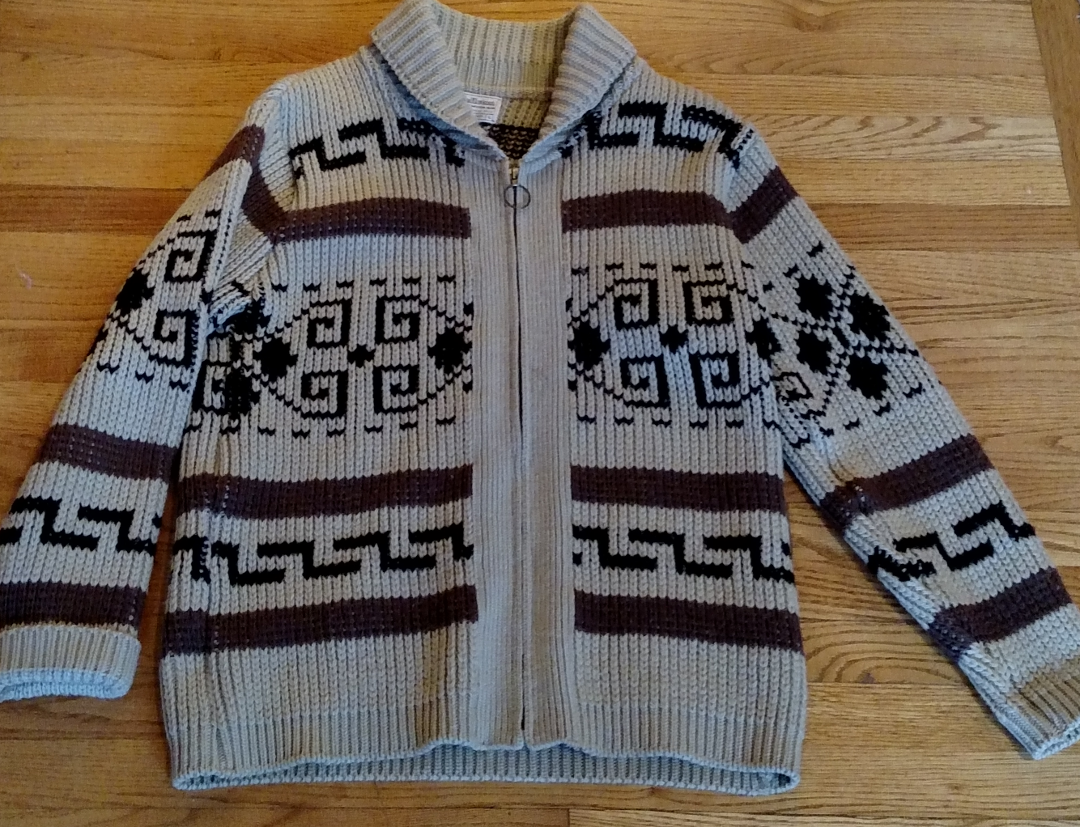 I m a Big Lebowski fan and have an authentic cowichan sweater like the one  in the movie. 6ca33db0a99